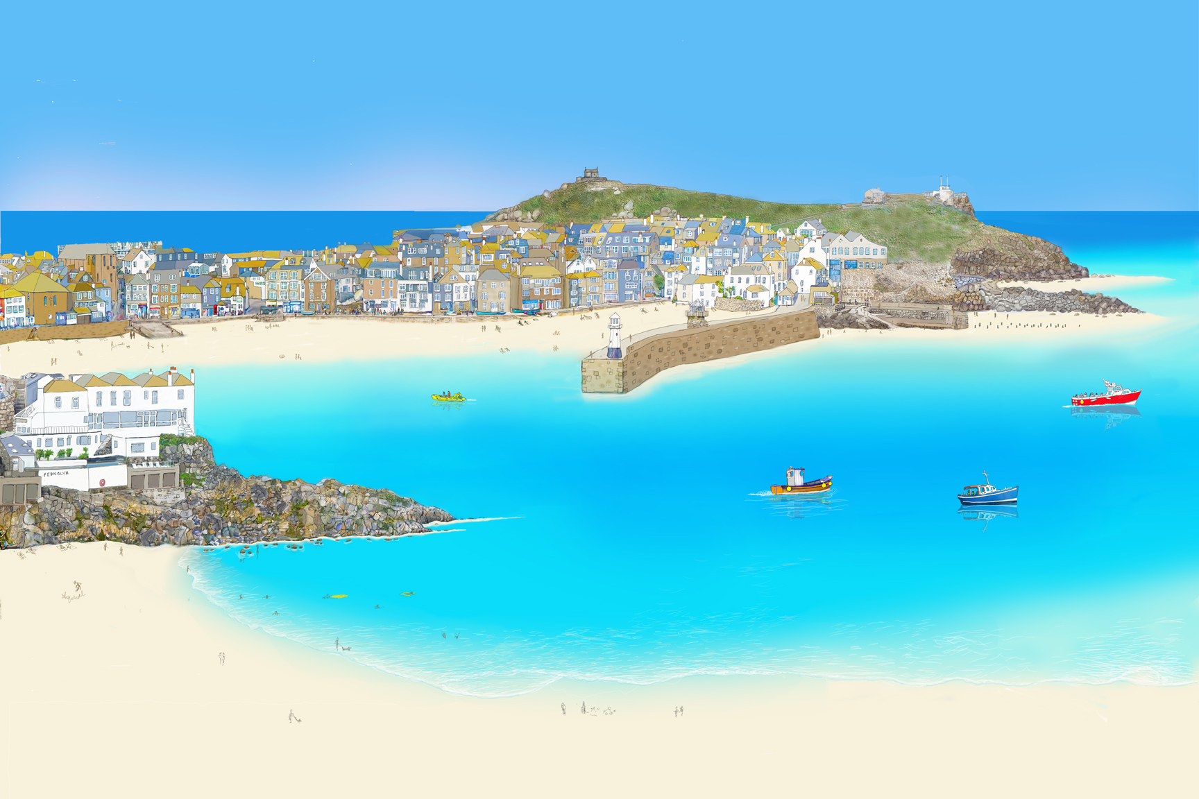 First Glimpse II - St Ives