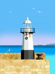St Ives Lighthouse - Smeaton's Pier